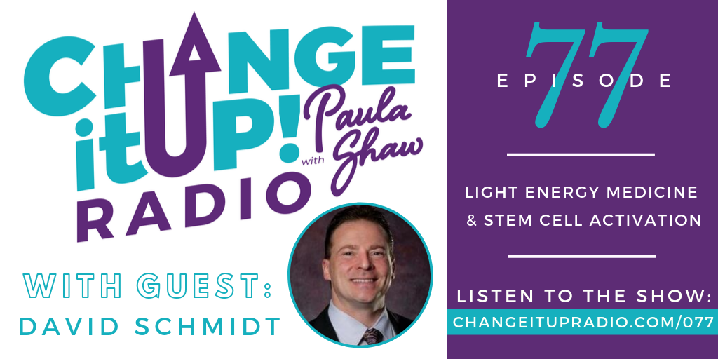 077: Light Energy Medicine & Stem Cell Activation