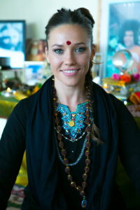Image of Brahman Kyrie - on Change It Up Radio with Paula Shaw