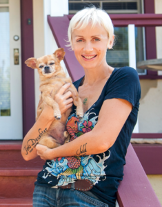Image of Elizabeth Allen, an author, poet, animal lover, educator on end of life care for animals and their people, and a vibrational cellular therapist specializing in grief relief - on Change It Up Radio with Paula Shaw