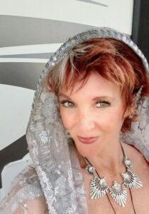 Image of Joy White Peacock - Experience Joy - on Change It Up Radio with Paula Shaw